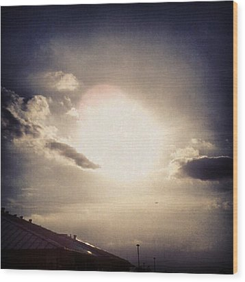 #andrography #nexuss #random #sun Wood Print by Kel Hill
