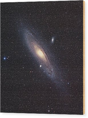 Andromeda Galaxy Wood Print by Mpia-hd, Birkle, Slawik