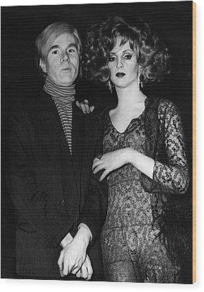 Andy Warhol (1928-1987) Wood Print by Granger