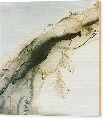 Angel On High Wood Print by Richard Fisher