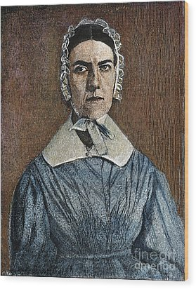 Angelina Emily Grimke Wood Print by Granger