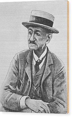 Angelo Dubini, Italian Physician, Artwork Wood Print by