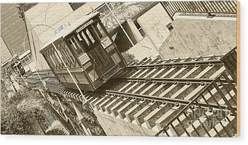 Wood Print featuring the photograph Angels Flight by Jason Abando