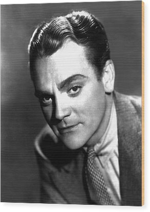 Angels With Dirty Faces, James Cagney Wood Print by Everett