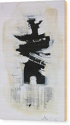 Anger Number Six Wood Print by Mark M  Mellon