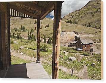 Animas Forks Palette Wood Print by Melany Sarafis