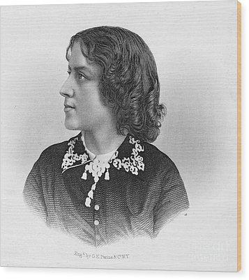 Anna Elizabeth Dickinson Wood Print by Granger