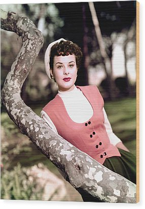 Anne Of The Indies, Jean Peters, 1951 Wood Print by Everett