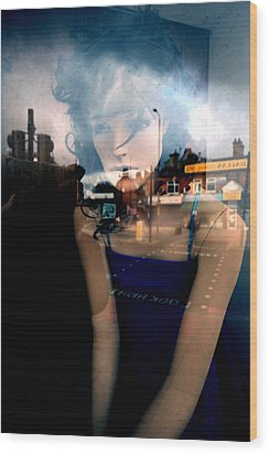 Annette Wood Print by Jez C Self