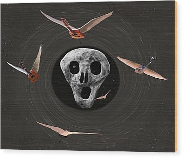 Another One Bites The Dust Wood Print by Eric Kempson