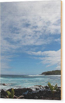 Wood Print featuring the photograph Another Sunny Sunday In Hawaii by Kerri Ligatich