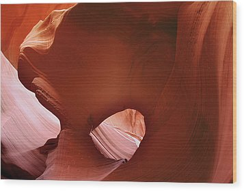 Antelope Canyon - A Rare Beauty Wood Print by Christine Till