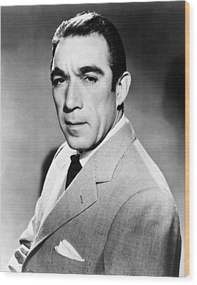 Anthony Quinn, United Artists Publicity Wood Print by Everett