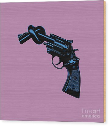 Anti Gun Wood Print by Tim Bird