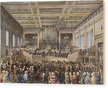 Anti-slavery Convention Wood Print by Granger