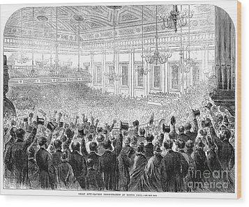 Anti-slavery Meeting, 1863 Wood Print by Granger