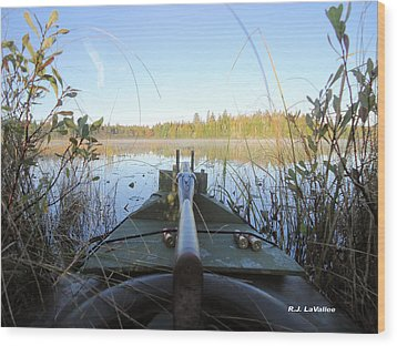 Anticipation  Wood Print by Roland LaVallee