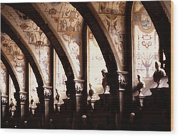 Antiquarian Hall The Residenz Munich Wood Print by Tom Wurl