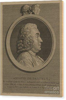Antoine Deparcieux Wood Print by Granger