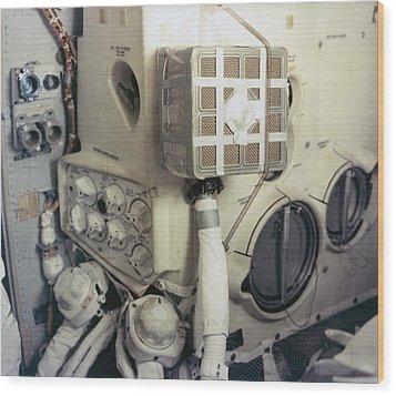 Apollo 13 Lunar Module And The Mailbox Wood Print by Everett
