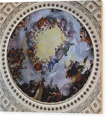 Wood Print featuring the photograph Apothesis Of Washington by Pravine Chester