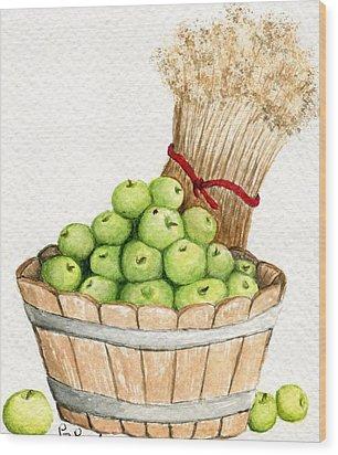 Apple Crate Wood Print