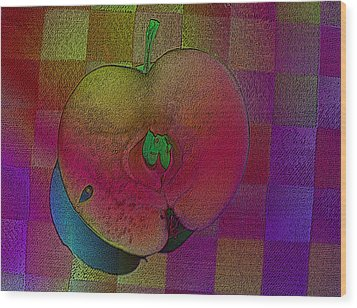 Wood Print featuring the photograph Apple Of My Eye by David Pantuso