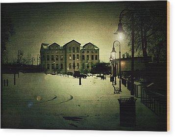 Appleton Waterfront Wood Print by Joel Witmeyer
