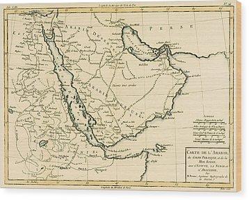 Arabia Wood Print by Guillaume Raynal