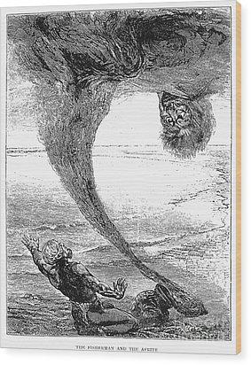 Arabian Nights, 1903 Wood Print by Granger