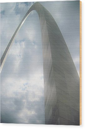 Arch In The Sky Wood Print