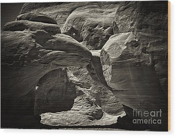 Wood Print featuring the photograph Arch by Linda Constant
