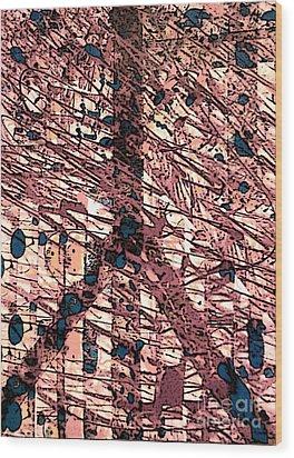 Archeological Peace Wood Print by Robert Haigh