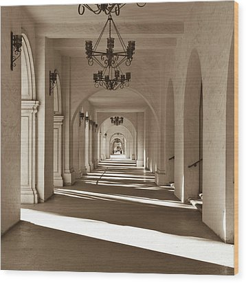 Wood Print featuring the photograph Arches II by Ryan Weddle