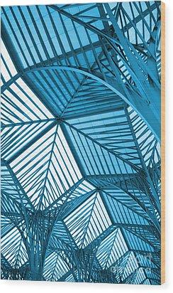 Architecture Design Wood Print by Carlos Caetano