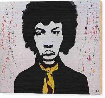 Are You Experienced Wood Print by Austin James