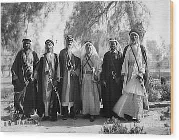 Aref Al-aref (1892-1973) Wood Print by Granger