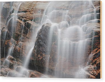 Arethusa Falls - Crawford Notch State Park New Hampshire Usa Wood Print by Erin Paul Donovan