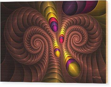 Aries Wood Print by Elena Martinez-Vergara