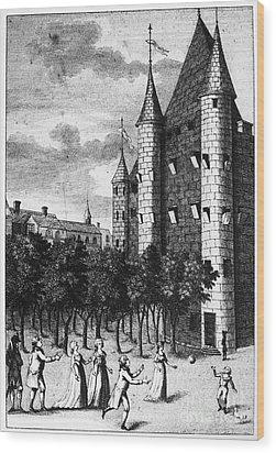 Aristocrat Prisoners, C1793 Wood Print by Granger