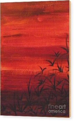 Arizona Dusk Wood Print