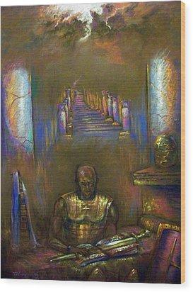 Armor Of God Wood Print by Tommy  Winn