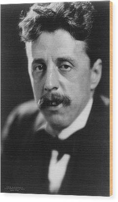 Arnold Bennett 1867-1931 Versatile Wood Print by Everett