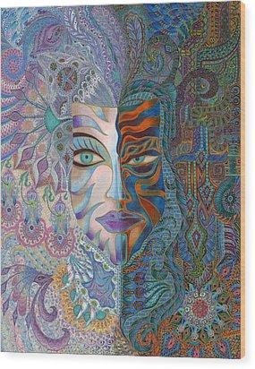 Aroalba  Wood Print by Ellie Perla