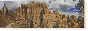 Wood Print featuring the photograph Around The Bend At Bryce Canyon by Gregory Scott