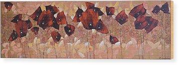 Art Deco Wood Print by Anastasija Kraineva