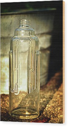 Art Deco Form And Function Wood Print by Rebecca Sherman