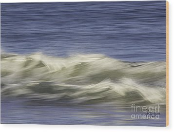Wood Print featuring the photograph Artistic Wave by Betty Denise