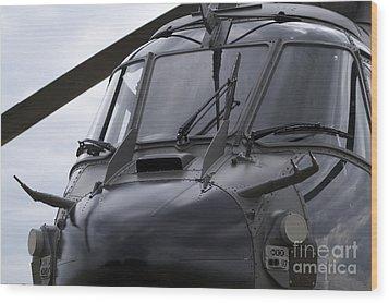 As532 Cougar Of Switzerland Air Force Wood Print by Ramon Van Opdorp