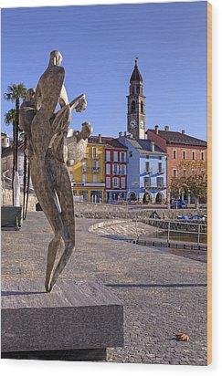 Ascona - Switzerland Wood Print by Joana Kruse
